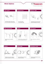 Brochure Industrial cable winches - 7