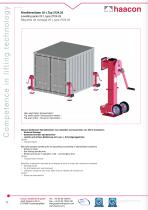Lifting systems - 8