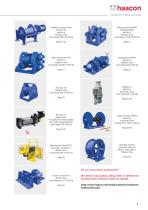 Winches for Industrial appliance - 3
