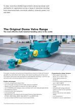 The Original Dome Valve Range - 3