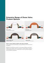 The Original Dome Valve Range - 6