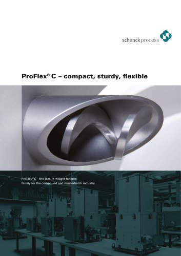 ProFlex® C special feeders Compact, stable, flexible