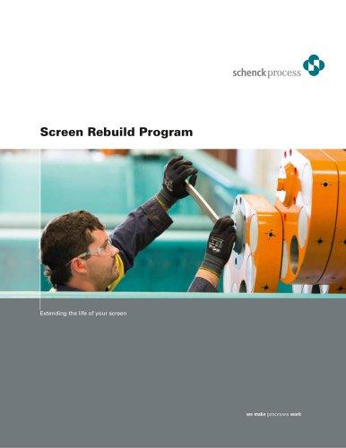 Screen Rebuild Program