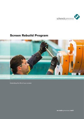 Screen rebuilding