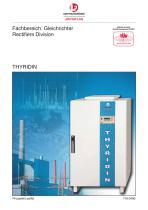 Submarine shore power rectifiers (thyridine HP)