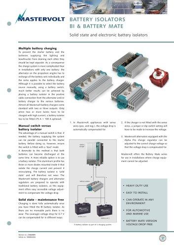 BI Battery Isolators