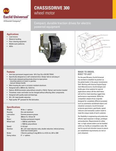 CHASSISDRIVE 300  wheel motor