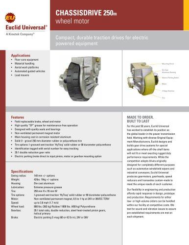 CHASSISDRIVE250m  wheel motor