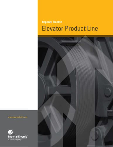Imperial Electric Elevator Product Line