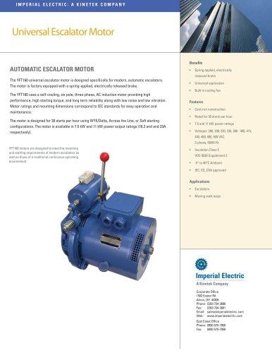 Universal Escalator Motor