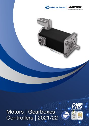Motors | Gearboxes Controllers | 2021/22