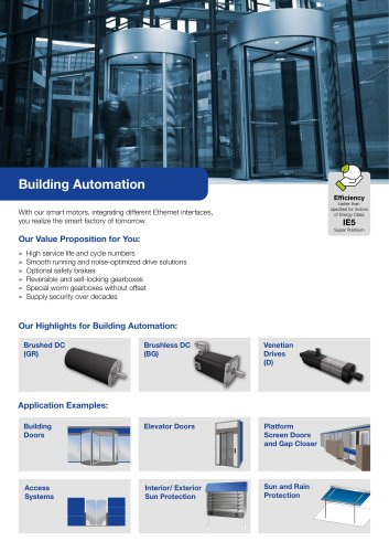 Segment Flyer Building Automation