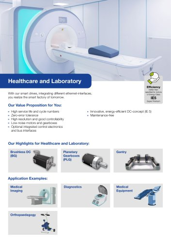 Segment Flyer Healthcare and Laboratory