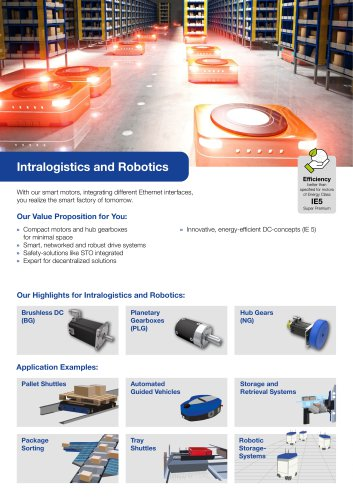 Segment Flyer Intralogistics and Robotics