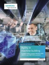 Agility in machine building