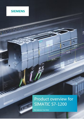 Product overview forSIMATIC S7-1200