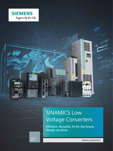 SINAMICS Low Voltage Converters