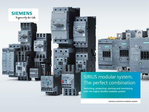 SIRIUS modular system