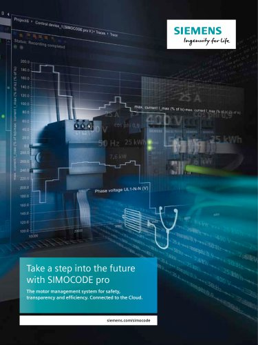 Take a step into the future with SIMOCODE pro