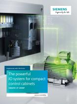 The powerful IO system for compact control cabinets