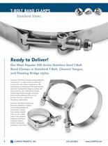 Standard T-Bolt Band Clamps