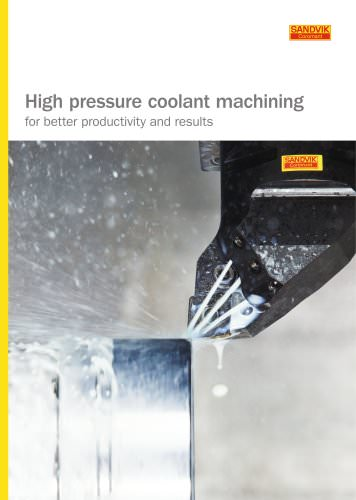 High pressure coolant brochure