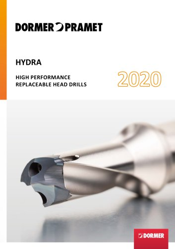 HYDRA HIGH PERFORMANCE REPLACEABLE HEAD DRILLS 2020