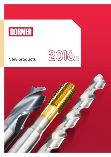 New Dormer products 2016.2