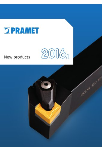 New Pramet indexable products 2016.1