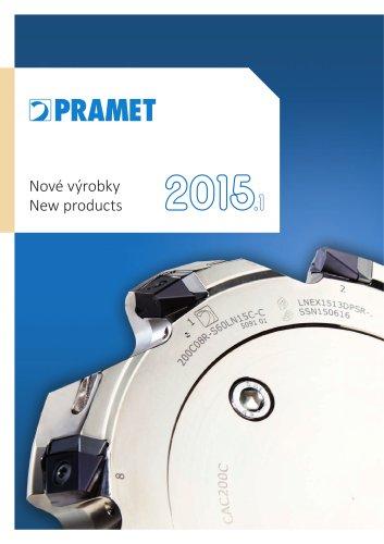 New Pramet products 2015.1