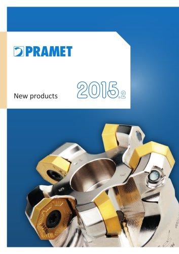 New Pramet products 2015.2