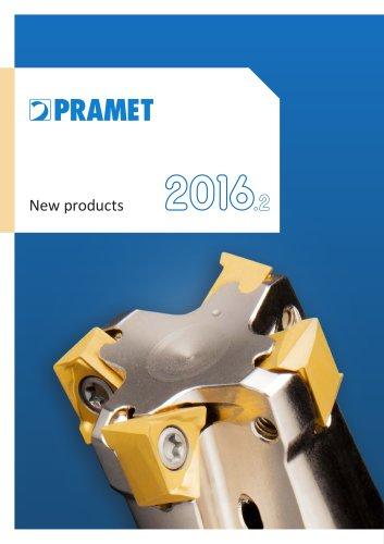 New Pramet products 2016.2