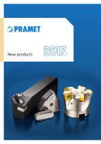 Pramet 2017.1 new products