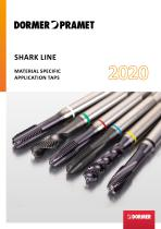 Shark line material specific taps 2020