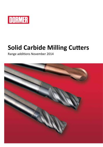 Solid Carbide Milling Cutters