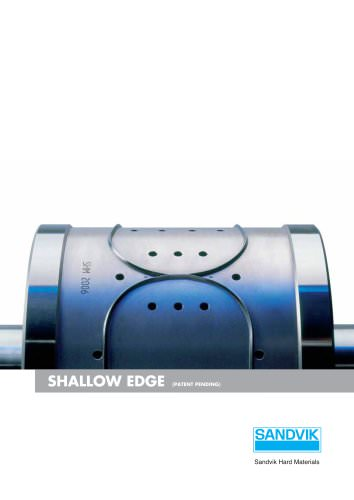 Carbide Rotary Cutters - Shallow edge