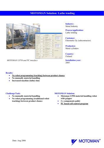 Case study_Eskomatic_Lathe tending