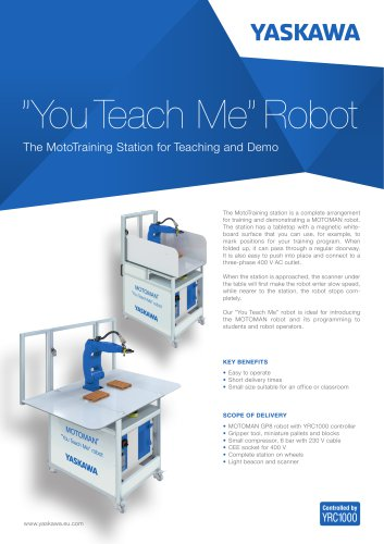 """""""You teach Me""""Robot"""