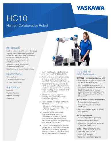 HC10 Human-Collaborative Robot