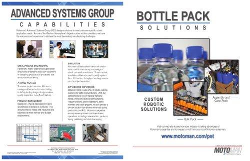 Motoman Bottle Pack Solutions