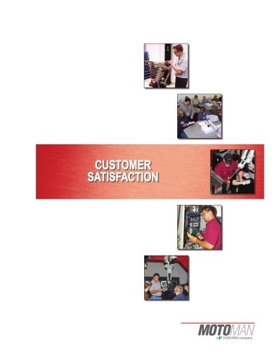 Motoman Customer Satisfaction