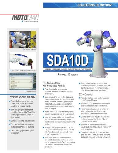 Motoman Dual Arm SDA10D Robot
