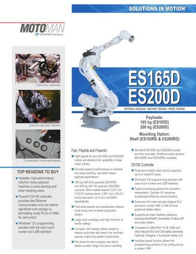 Motoman ES165D/ES200D Handling Robots