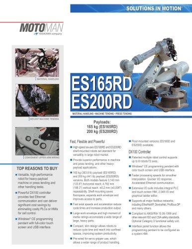 Motoman ES165RD/ES200RD Handling Robots