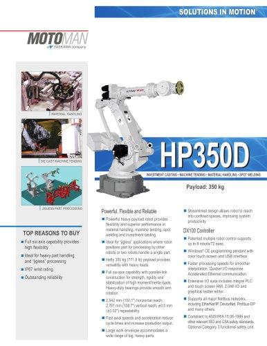 """Motoman HP350D """"High Performance"""" Robot"""