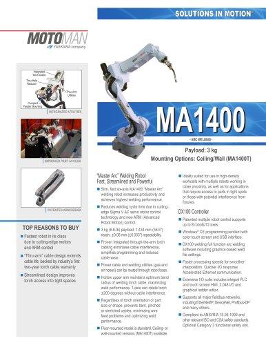"""Motoman MA1400 """"Master Arc"""" Welding Robot"""