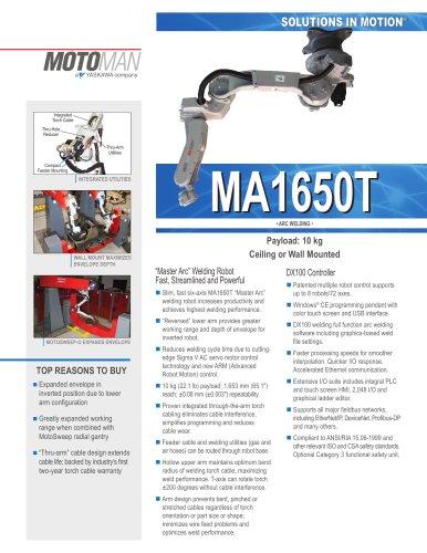 """Motoman MA1650T """"Master Arc"""" Welding Robot"""
