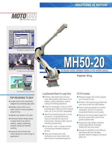 Motoman MH50-20 Robot