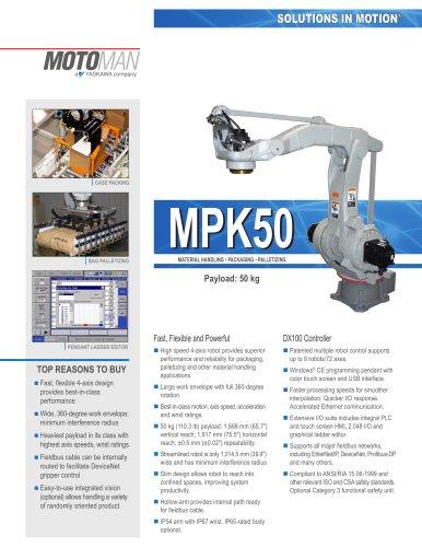 "Motoman MPK50 ""Packing"" Robot"