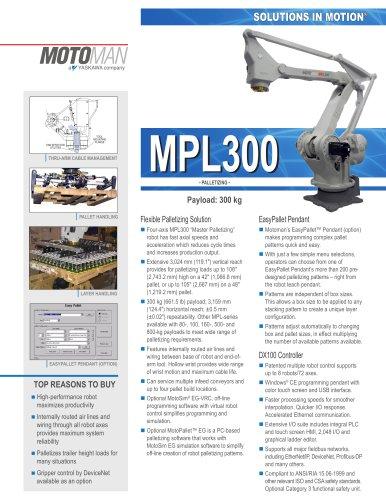 "Motoman MPL300 ""Master Palletizing"" Robot"